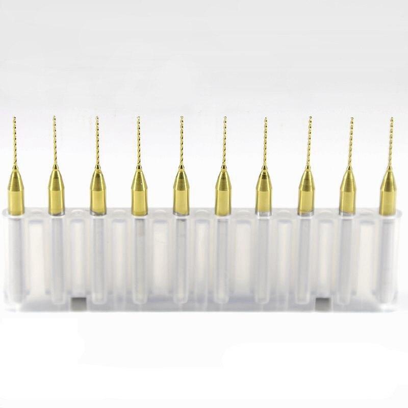 10pcs 0.7mm CNC PCB router Bits Print Circuit Board Drill milling cutters