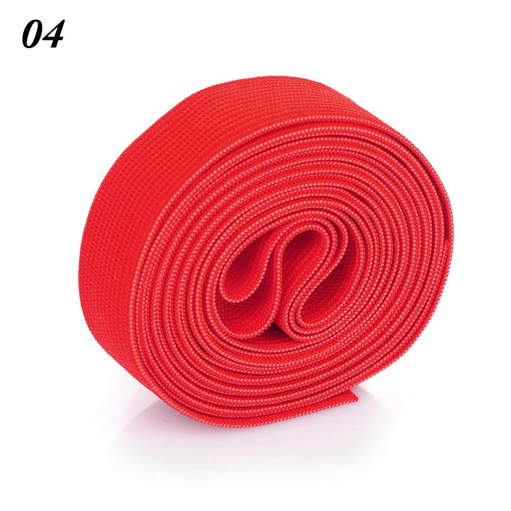 2 м/рулон многофункциональная эластичная лента плотная плетеная резинка из полиэстера шитье из кружева отделка ленты для талии аксессуары для одежды домашний текстиль - Цвет: 4