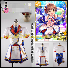 купить New Clothing Hot Anime THE IDOLM@STER Cinderella Girl  6th anniversary Costume Uniform Cosplay  D по цене 8447.76 рублей