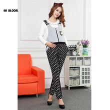 Cotton Maternity Clothing Belly Band&Support Dot Overalls Pants&Capri for Pregnancy Women Pregnancy Clothes Suspender Trousers