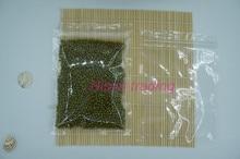 100pcs/lot 24*37cm Transparent ziplock bag valve bag food bag, all clear rice zipper pouch