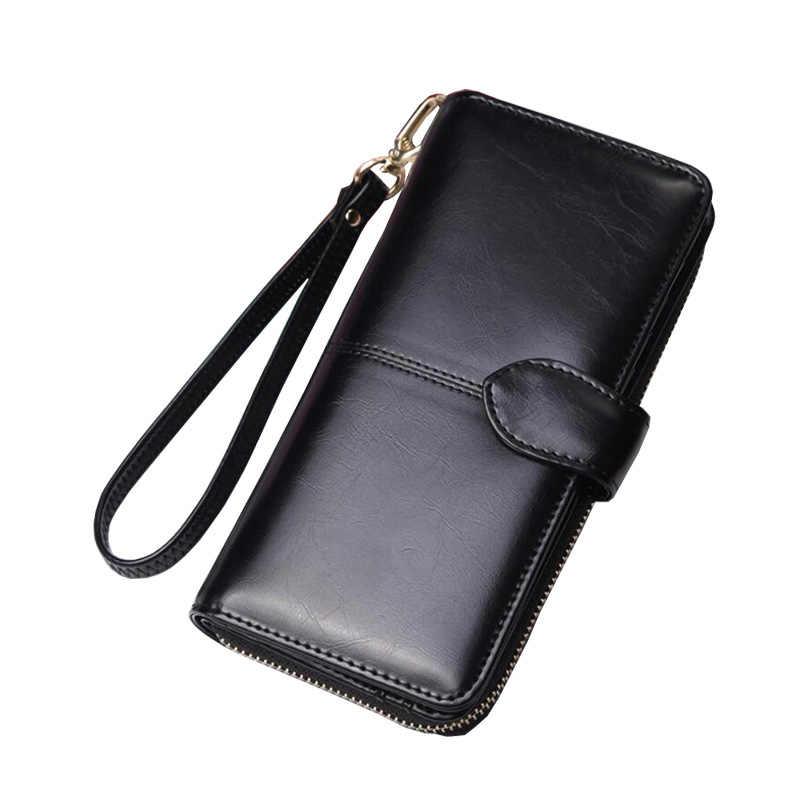 37429115231f ... 2018 Модные женские кожаные кошельки Женская сумка-клатч женские  кошельки для монет держатели Кошелек для ...