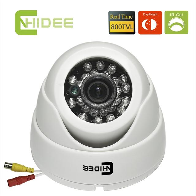 CNHIDEE CMOS 800TVL Segurança CCTV Câmera Dome IR Night Vision interior 20 PCS LEVOU Filtro de CORTE IR Distância 20 M Camaras De Seguridad