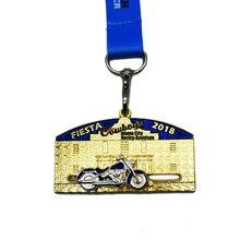 Custom Die Casting 3D Medal Hot Sale and Ribbon k200208