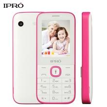 Оригинальный ipro I324F 2.4 дюймов Кнопка разблокировать мобильный телефон 1000 мАч dual sim gsm дешевый телефон Русский язык для Старейшины дети