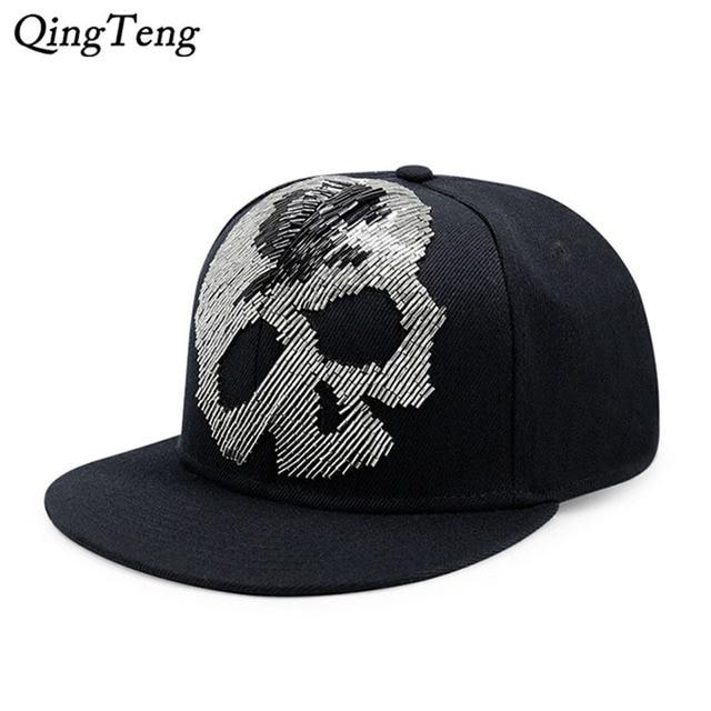 2018 Popular hip-hop Punk Gorras Planas Gorras Snapback sombreros para  hombres callosos cinturón de 0df7e2f2057
