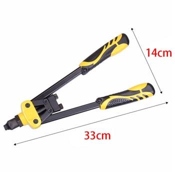 THGS 1Pc Industrial Grade Manual Rivet Machine Household Grab Nail Pliers Labor-Saving Core Rivet Heavy Duty Riveter