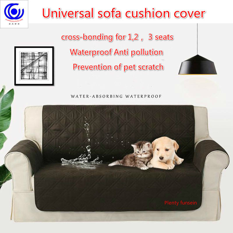 Sofa Couch Cover Chair Throw Pet anti scratch Dog Kids Mat Furniture Protector Reversible Washable Removable Slipcovers 123Seat in Sofa Cover from Home Garden