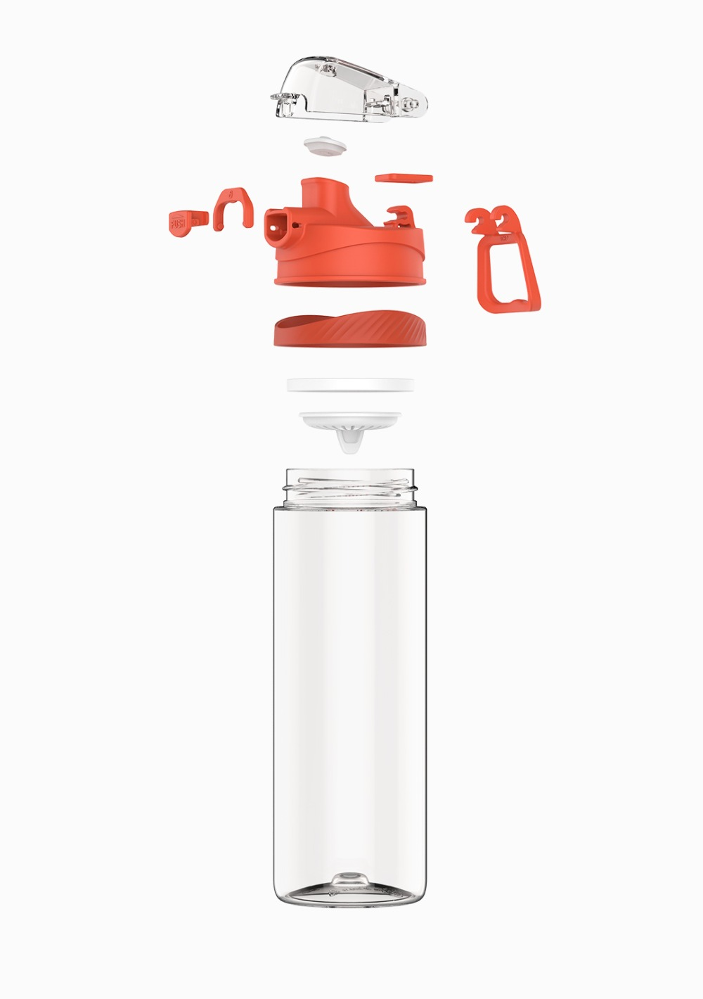 Image 3 - Xiaomi Tritan Sports Cup 480ML 620ML Safety Lock Non toxic and Tasteless Resistance To Falling Travelling Sports Running Bottle-in Smart Remote Control from Consumer Electronics