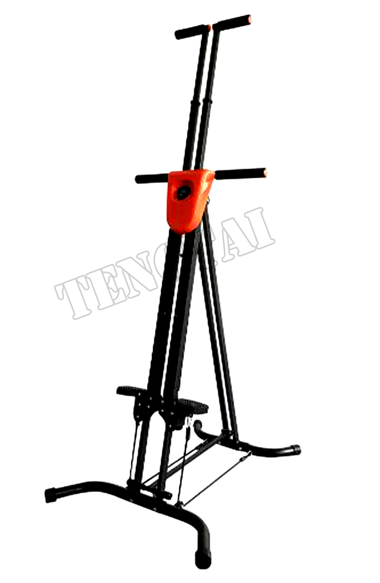 Vertical climber exercise climbing machine home gym