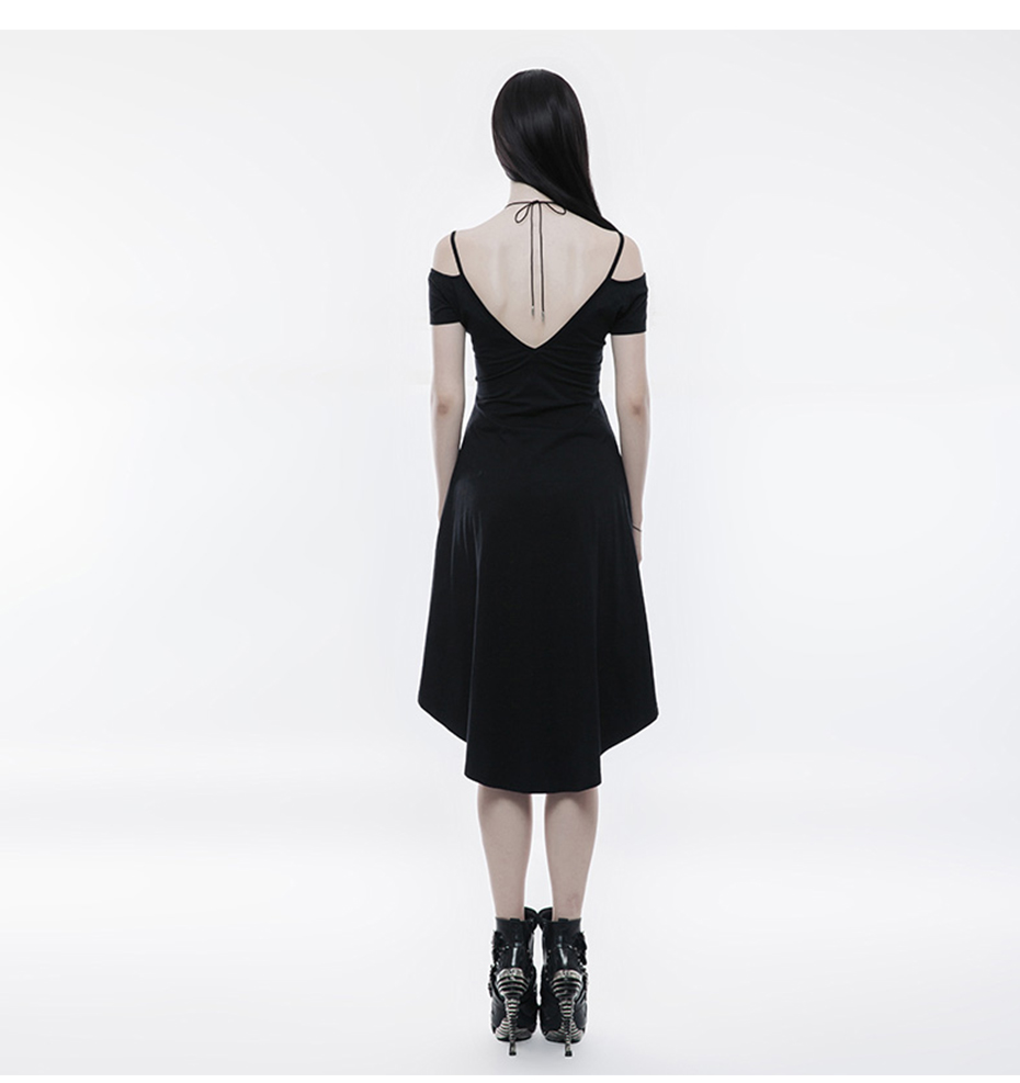Punk Strapless Slim Dress