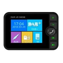 Радио автомобильный DAB Электроника модный fm-передатчик магнитный автомобильный Радио цифровой адаптер цветной экран MP3 стерео широкий обзор Bluetooth