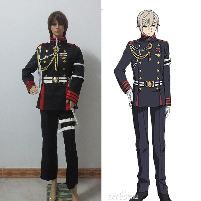Seraph of the End /Owari no seraph Guren Ichinose Cosplay Costume