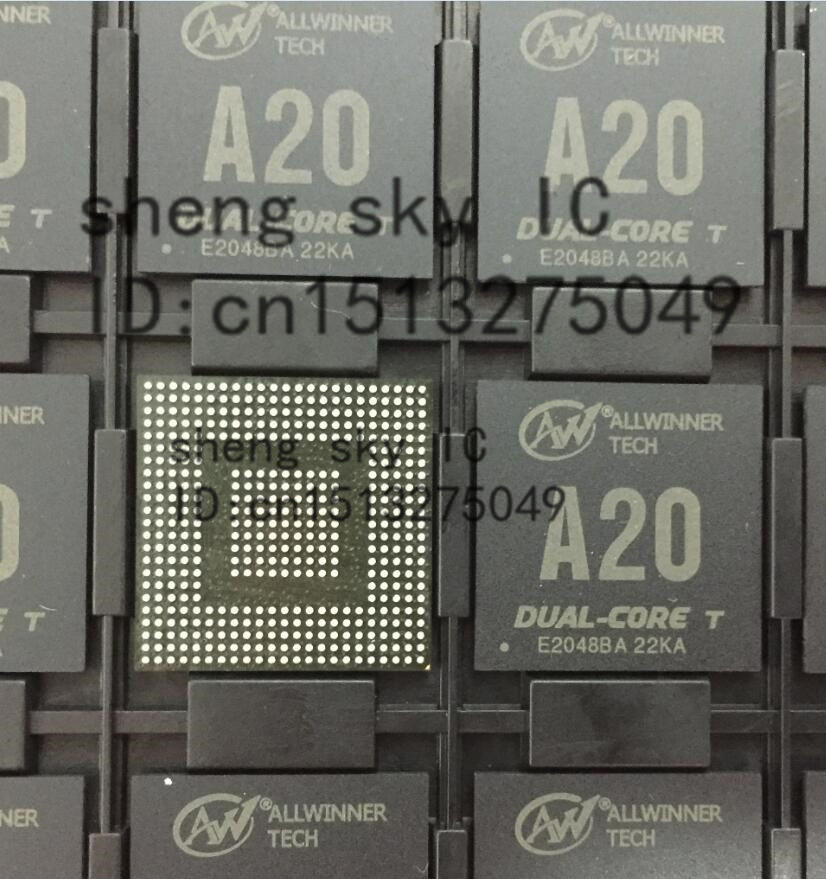 FREE SHIPPING 10pcs/lot ALLWINNER CPU BGA A20 RAM Open-source development board singel-board computer components