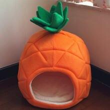 Милый Питомник Собаки дом теплый ананас моделирование складная