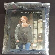 Brand Baby Backpacks Kids Sling Waterproof Windproof Cloak Wrap Mantle Cover Warmth
