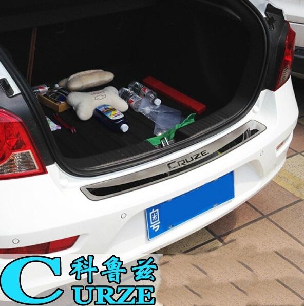 Tronco Traseiro guarda Covers Decoração Bumper Placa Para Chevrolet Cruze Hatchback 2009 2010 2011 2012 2013 2014