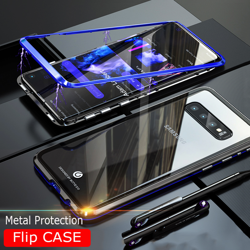 Magnetic Adsorption Case For Samsung Galaxy S10 Plus Lite