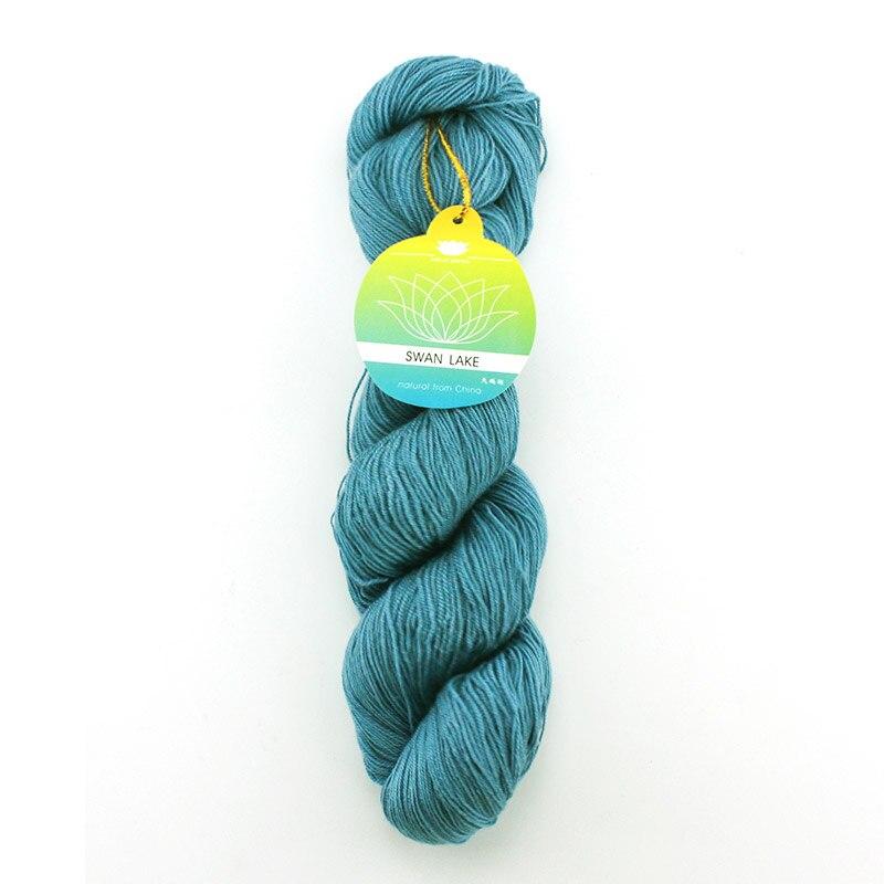 5*50g hank haute qualité fils de cachemire mélangé fils à tricoter et tisser du fil