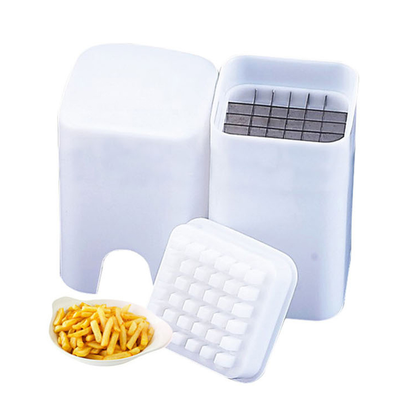 New Perfect Fries Potato Chips Cut One Step Fry Cutter Vegetable Fruit Slicer Sale J2Y