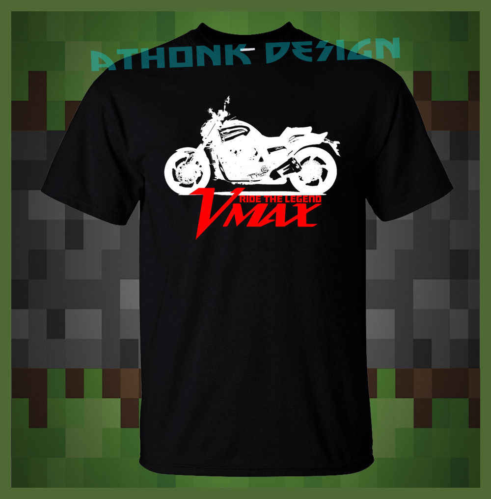 4e9e51f7a8 2019 New Summer Cool Tee Shirt Japanese Motorcycle VMAX RIDE THE LEGEND T- SHIRT VMAX