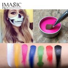 IMAGIC Face Paint Flash Color Body Paint Oil Paint Art Halloween Party Fancy Dress Beauty Face Body Paint Makeup Tools cheap 1pcs