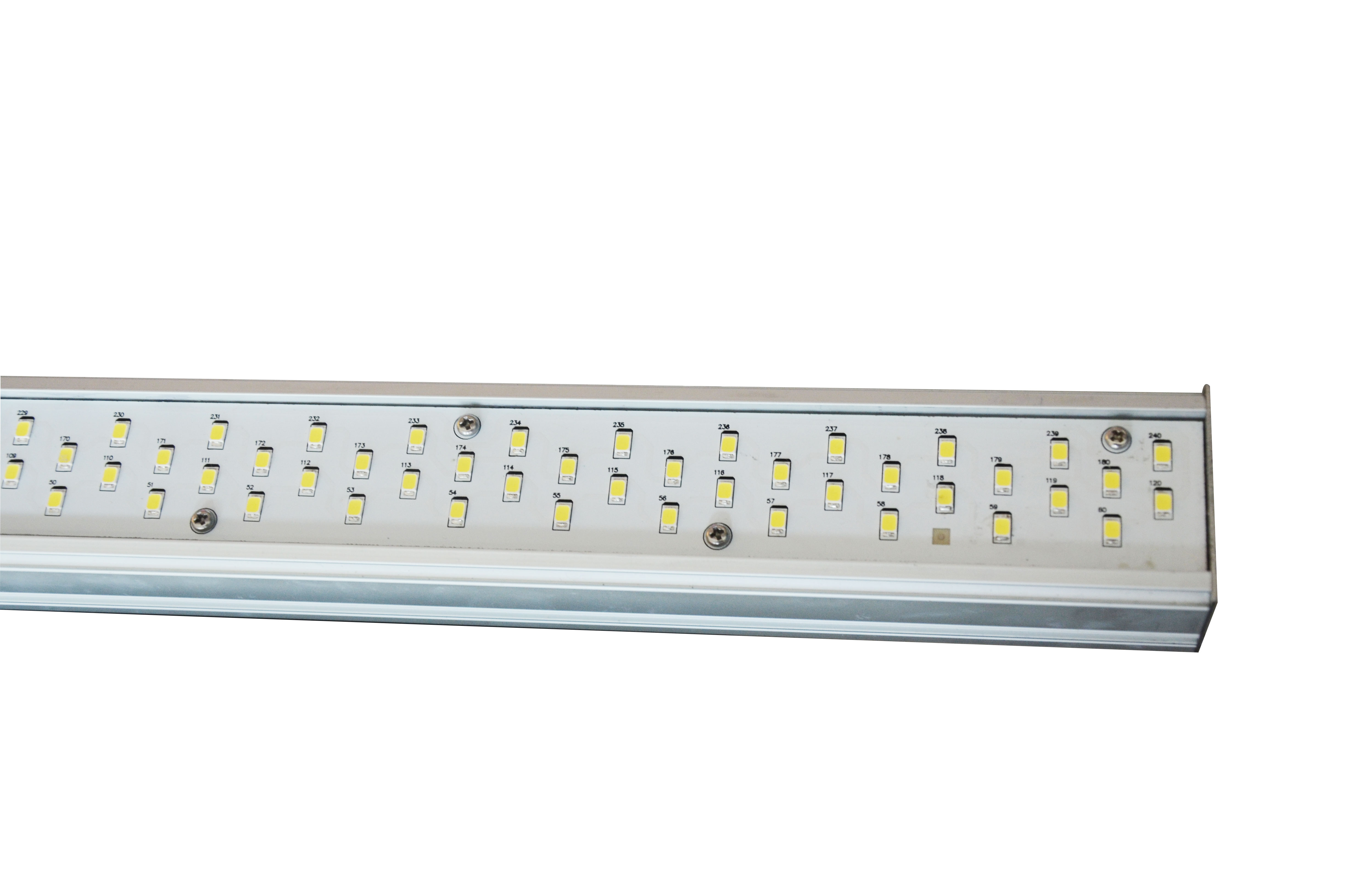 Athena X8 LED grow light bar actual power 657W full spectrum 1920pcs LEDs  4x4/ 5x5 grow tent indoor plants garden hydroponics