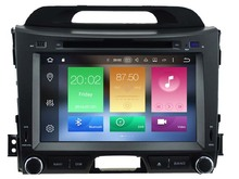Android 6 0 font b CAR b font Audio DVD player FOR KIA SPORTAGE 2010 2014