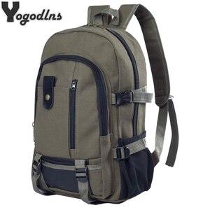 2019 رجل كبير قدرة السفر حقيبة تسلق الجبال على ظهره حقائب النساء قماش دلو حقيبة كتف الذكور الإناث قماش الحقيبة