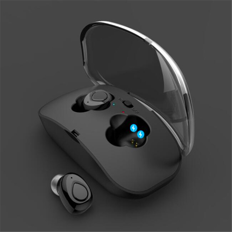 Active Noise Cancelling Bluetooth Earplugs Invisible True Wireless Earbuds Hands Free Head Phones For Sports Headset Gamer Pods