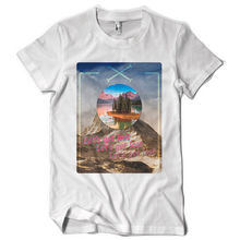 LETS GET LOST space landscape mountains holiday dtg mens t shirt teesPrinted Summer Style Tees Male Harajuku Top Fitness