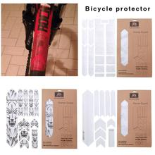 Горный велосипед DIY индивидуальная наклейка в стиле граффити 3D трехмерная Наклейка s инновационный ремонт царапины чехол от дождя на велосипед наклейка