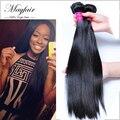 Горячие Продажи Mayfair продукты волос бразильский виргинский волосы прямые, 7А бразильский прямые волосы человеческих волос weave бесплатная доставка 3 шт.