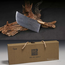 Traditional Kitchen Knife Folded Steel Knives For Cutting Meat Slicing Fruit Vegetable