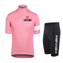 KEIYUEM K Men Women's Short Sleeve Cycling Jersey Sets Bike Ciclismo Bicycle Bicicleta Maillot Mtb Clothing Sets Racing Clothes