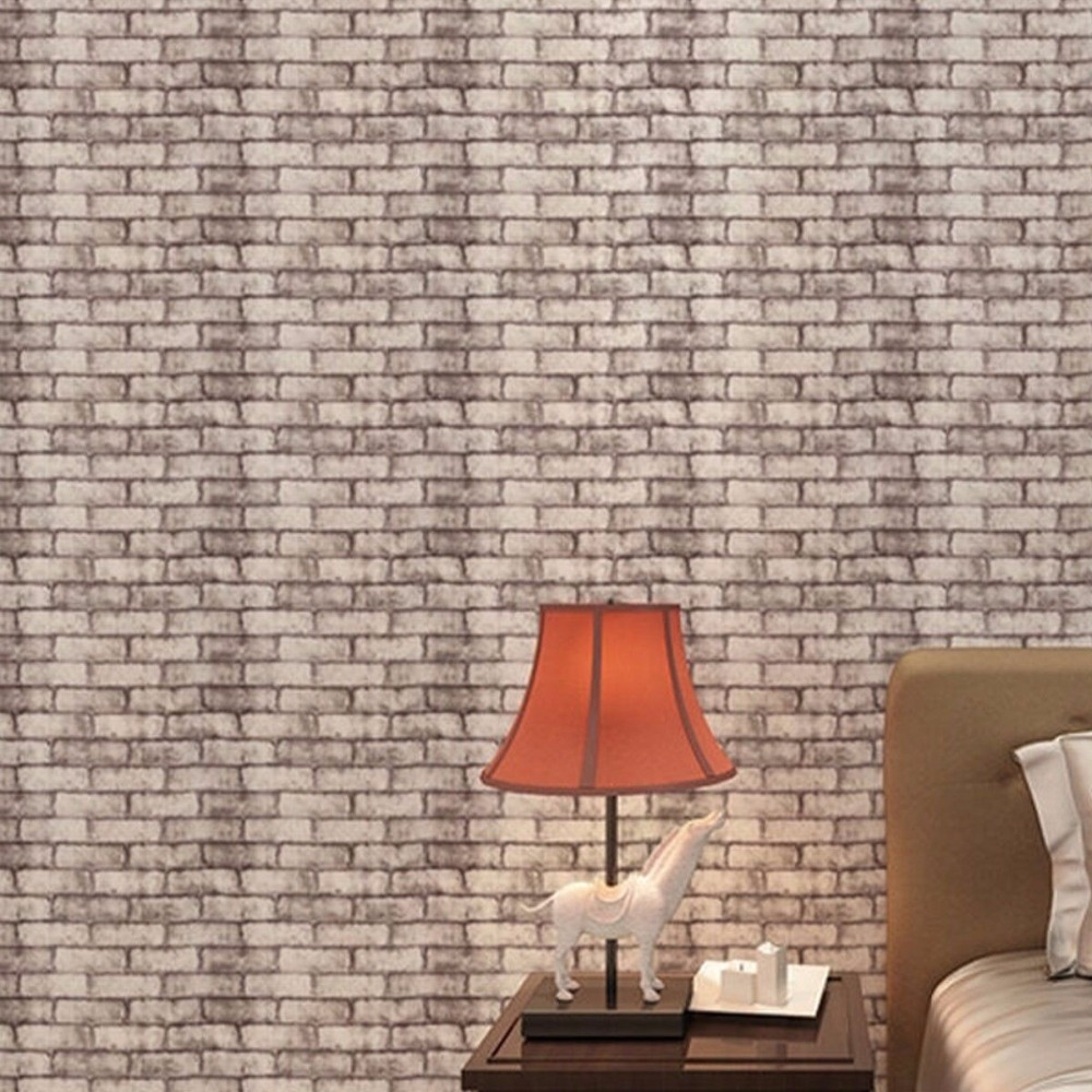 Europe Modern Brick Stone Style 3D Wallpaper For Living Room Vinyl Wall Paper Background Wall Sticker Parlor Mural Home Decor retro gray 3d brick wall paper modern wallpaper stone background wallpaper for living room tv background wallpaper