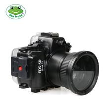 Waterproof Underwater Diving Case Camera Housing Case For Canon EOS 5D Mark IV 5D 4 with 24-105mm Lens 5D III Mark III(China)
