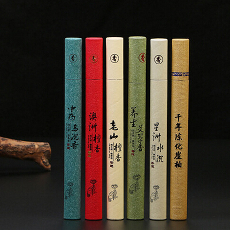 Stick Incense Artificial Plant Aromatherapy Refreshing Scent Sandalwood Tranquilize Mind Use In The Home Office Bedroom P0.15