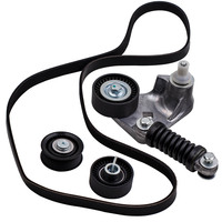 FOR FORD MONDEO ALTERNATOR FAN DRIVE BELT TENSIONER PULLEY KIT XS7E6A228CC