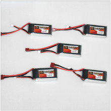 HOT ZOP Original Power LiPo Battery 11.1V 1500Mah 3S 40C MAX 60C T Plug For RC Car Airplane Helicopter Part 5pcs