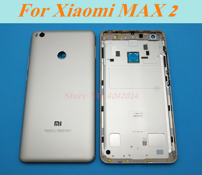 Original Glass Battery back cover For Xiaoma MAX 1 2 3 MAX2/MAX3 housing door Mobile phone case shell Replacement parts