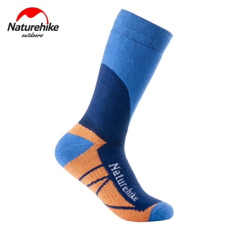 Naturehike One Pair Thermal Snow Peak Socks Quick-Drying Socks Cotton  Sport Socks Winter Skiing Hiking Leg Warmer