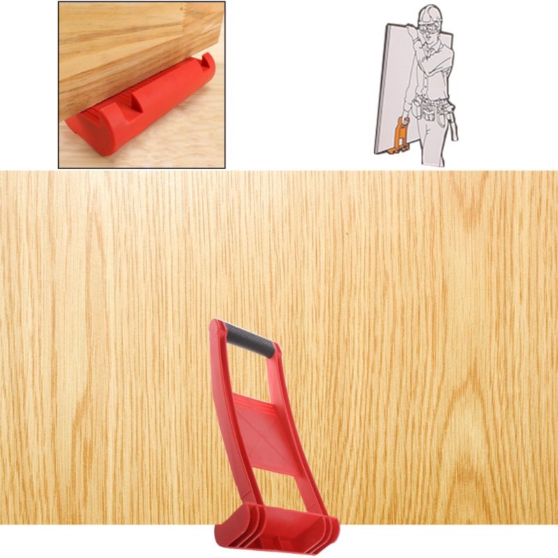 Premium Panel Carrier Gripper Handle Carry Drywall Plywood Sheet ABS 80KG Load Conveyor