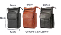 Genuine Cow Leather Hook Loop Clip Shoulder Belt Phone Case For Galaxy C5 C9 A7 A5 A3 J7 J5 J3(2017),Oneplus 5 5t 6 6t McLaren