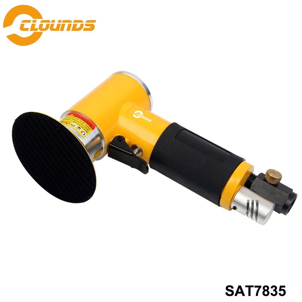 SAT7835 Power Tools Pneumatic Sander Air Tool 2 3 Pad Size Orbital Mini Air SanderSAT7835 Power Tools Pneumatic Sander Air Tool 2 3 Pad Size Orbital Mini Air Sander
