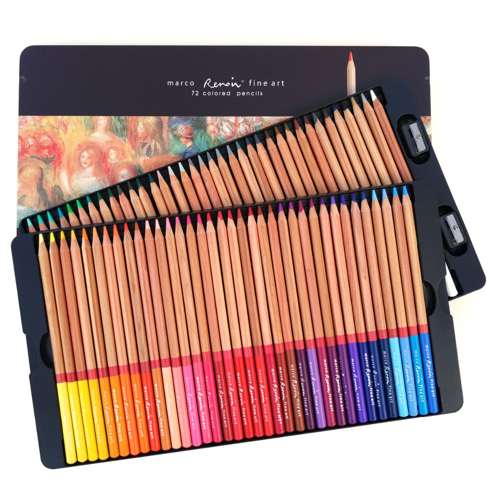 Marco 3100 72&100 Colored Pencils-5
