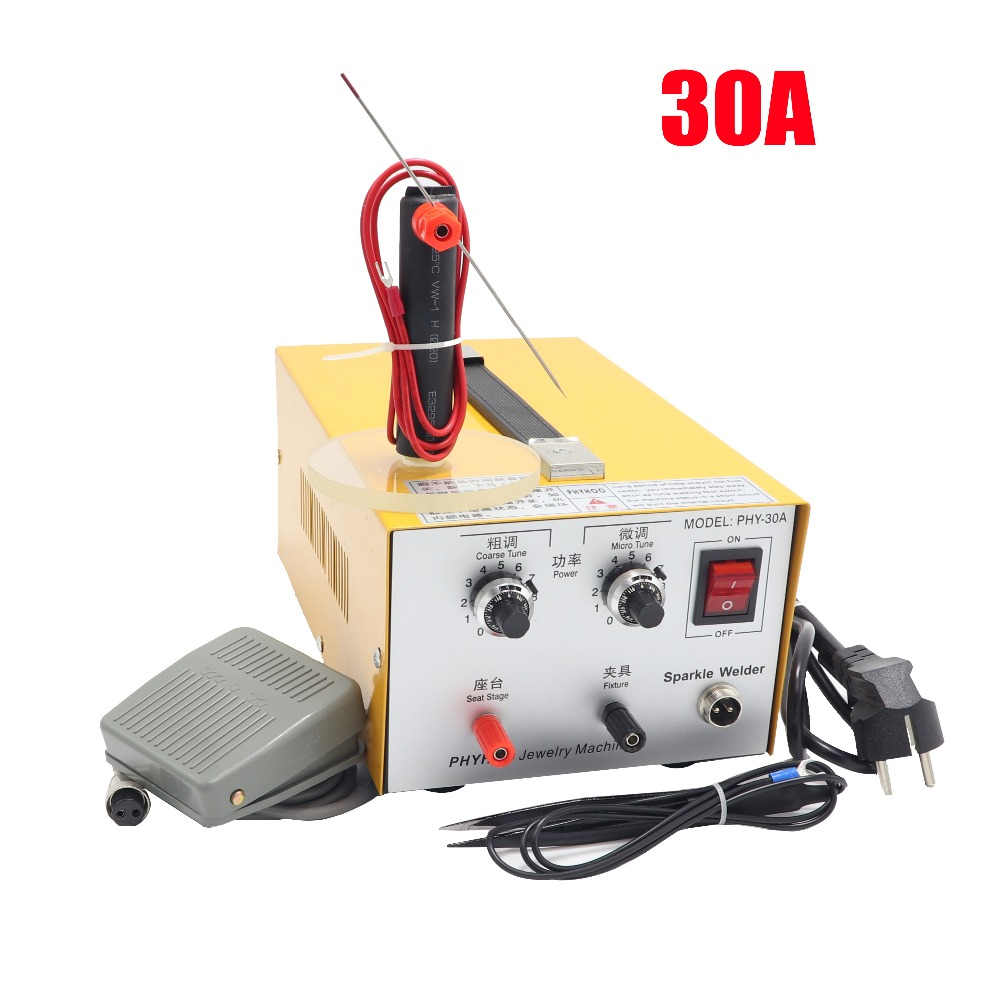 Jewelry spot welding machine DX 30A welding machine welding machine gold and silver necklace welding