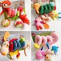 Brinquedo infantil Berço Gira Em Torno da Cama de Bebê Carrinho De Espiral Jogando carro do brinquedo torno pendurar chocalhos móvel toys bebe 0-12 meses