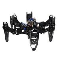 Robo Soul CR 6 Hexapod Robtics шестиногий робот паук с 20CH контроллер и цифровой сервопривод и Arduino Delvelopment Set 50% OFF