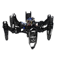 Robo Soul CR 6 Hexapod Robtics Six legged Spider Robot with 20CH Controller & Digital Servo &Arduino Delvelopment Set